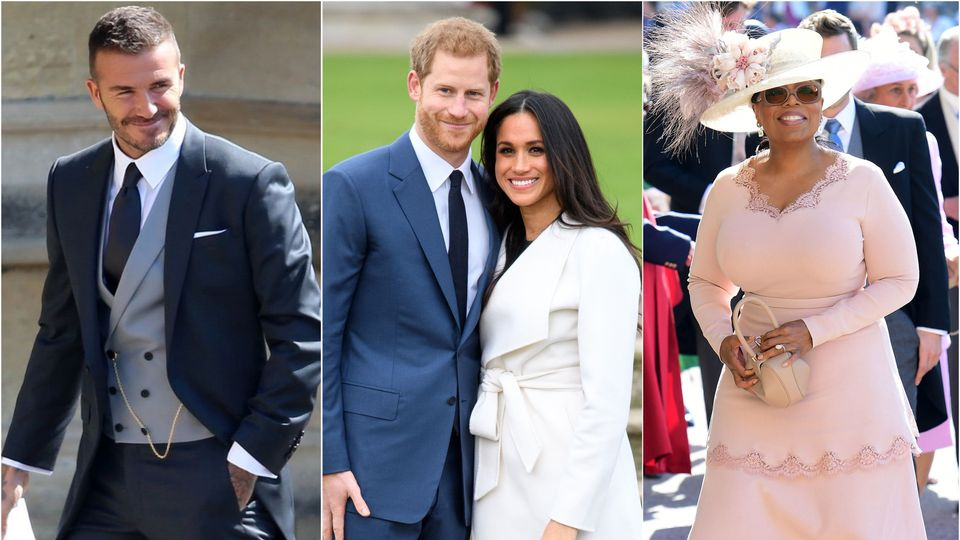 gallery celebrity guests arrive for prince harry and meghan markle s wedding trending news heat radio prince harry and meghan