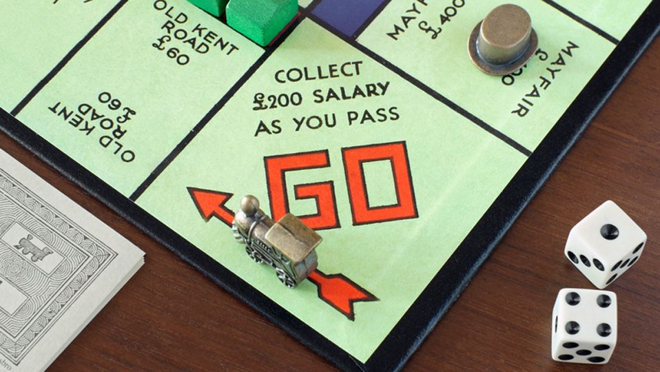 Win it Minute: When passing go on a Monopoly board, what icon is on the next corner?