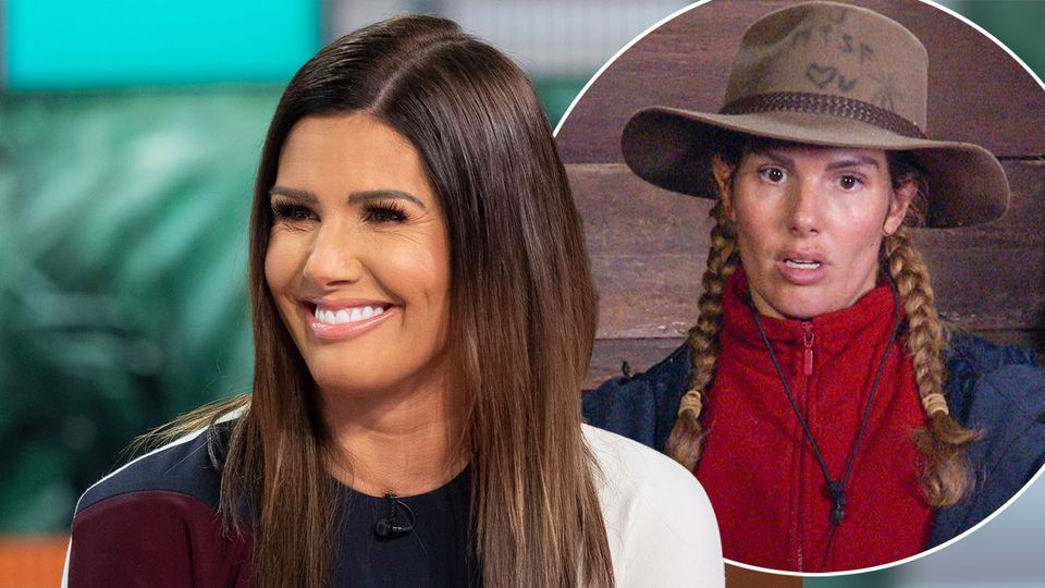 I M A Celebrity Get Me Out Of Here Rebekah Vardy Says It S Fake