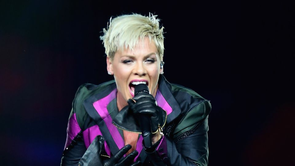 Pink Has Announced That She Will Be Releasing Her New Album Hurts To Be Human In April