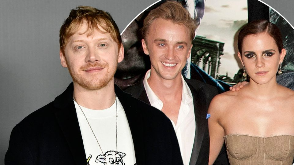 Harry Potter S Rupert Grint Addresses Tom Felton And Emma Watson Dating Rumours