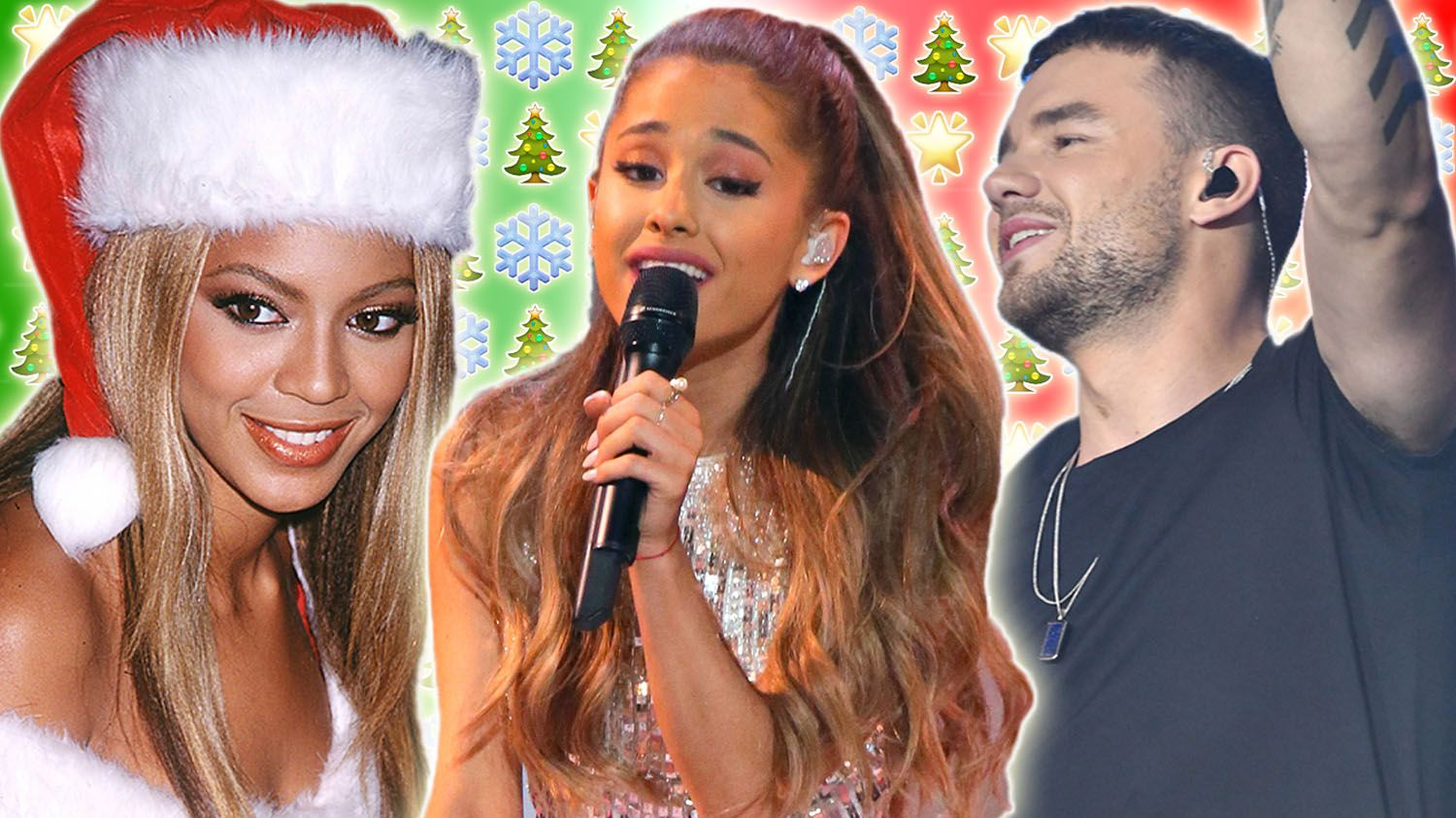 Pop stars you didn't know released Christmas songs
