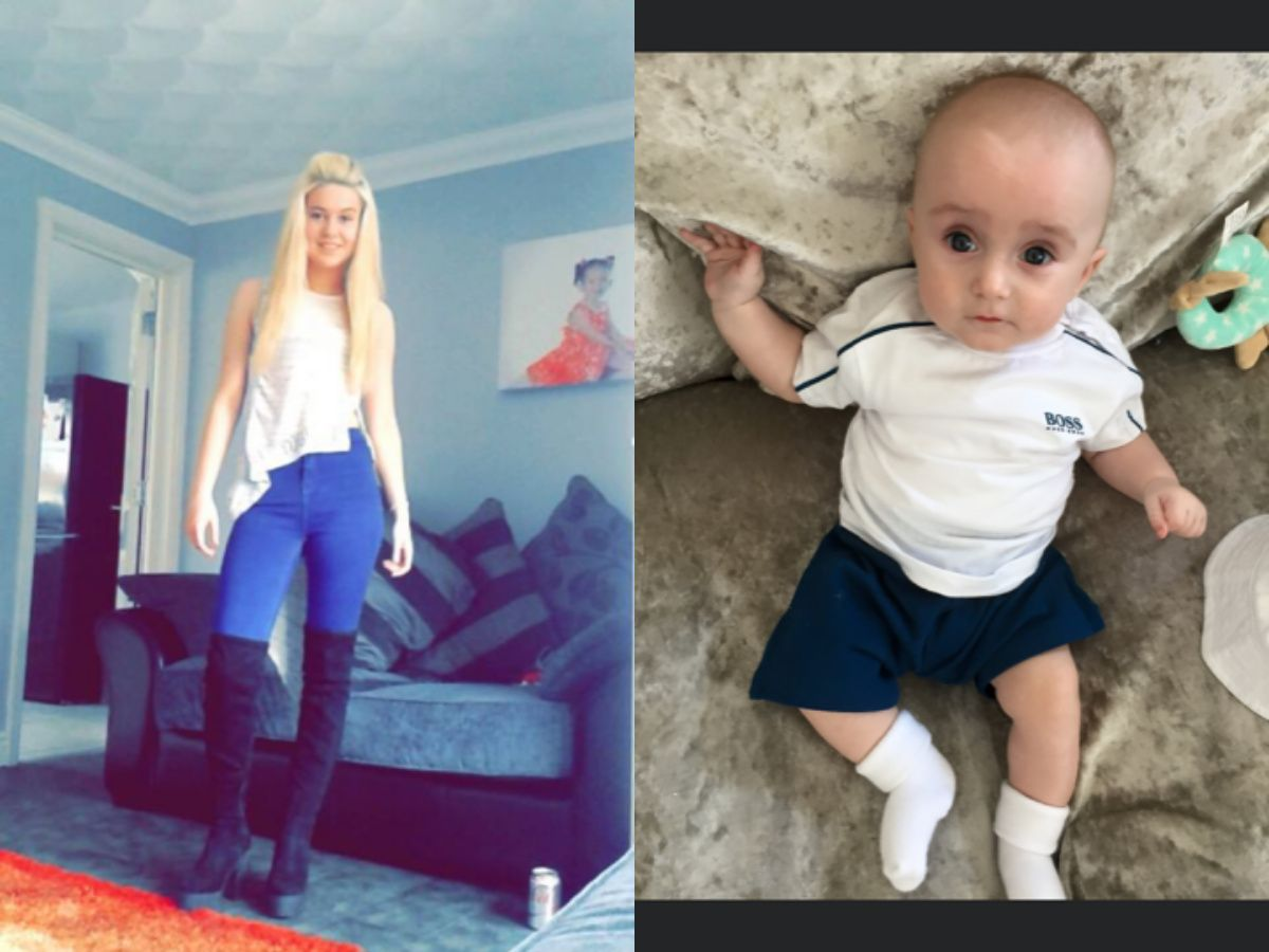 Police search for missing Merseyside mum and baby