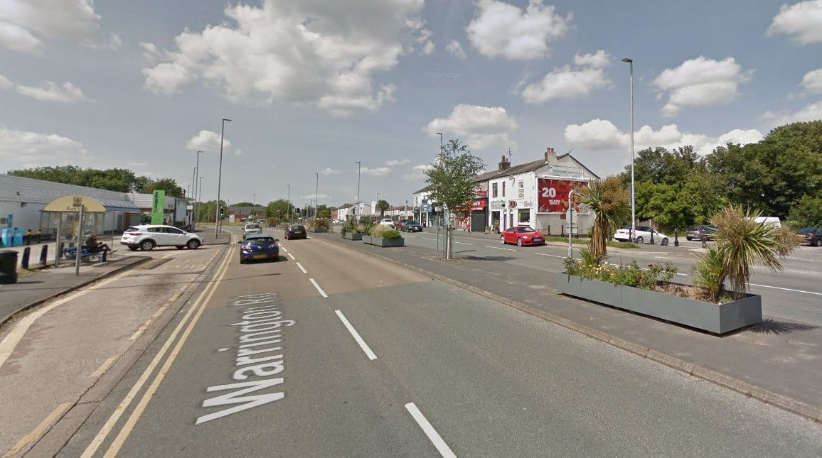 Man dies after being hit by an unmarked police car in Warrington