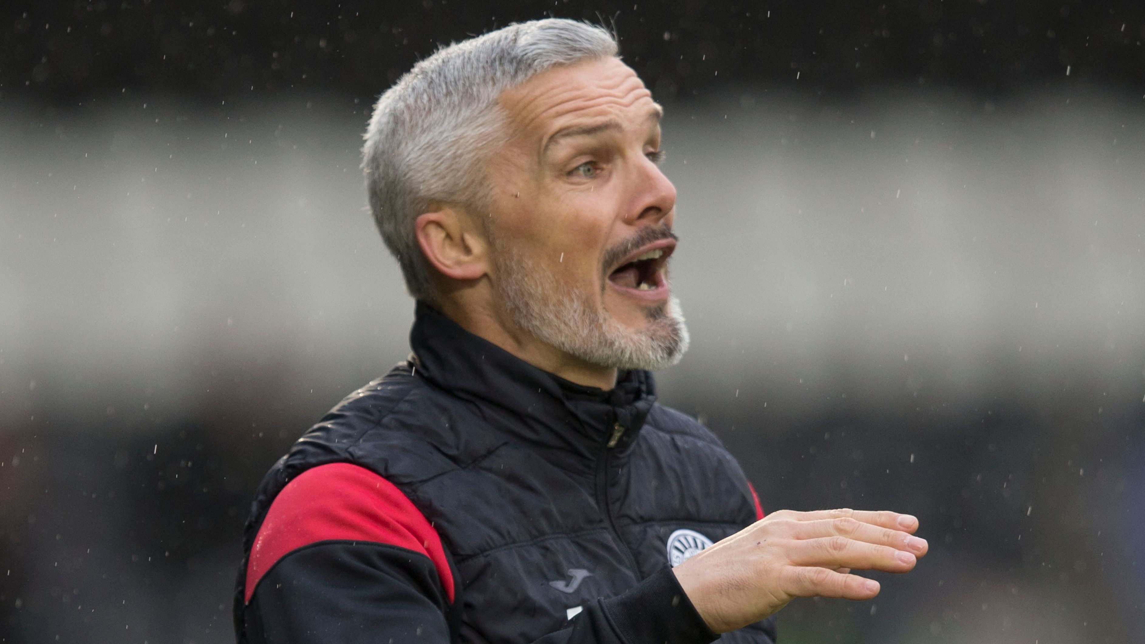 Jim Goodwin urges players to stand tall against Livingston