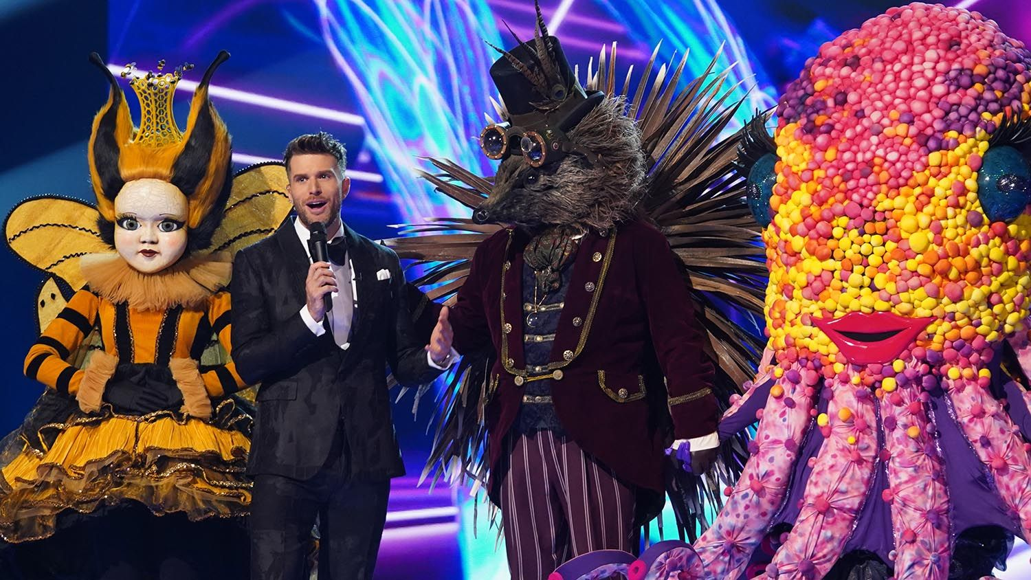 Joel Dommett says The Masked Singer finalists have LIED about their identity