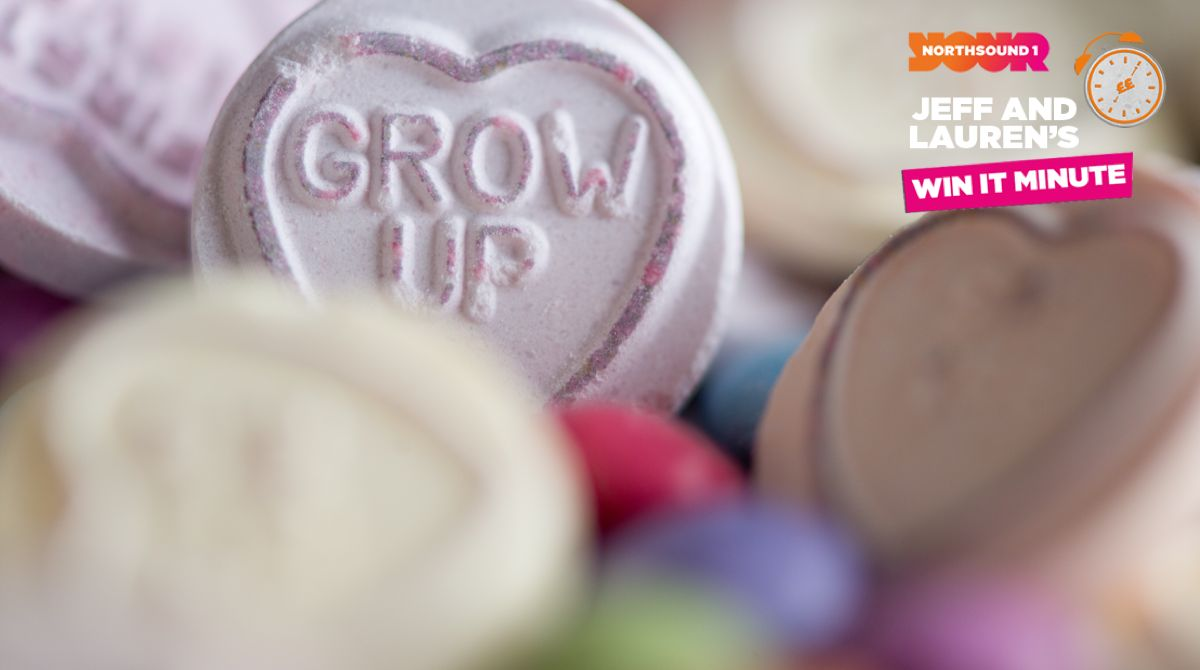 Win it Minute: What is the name of the sweet that has messages of admiration on them?