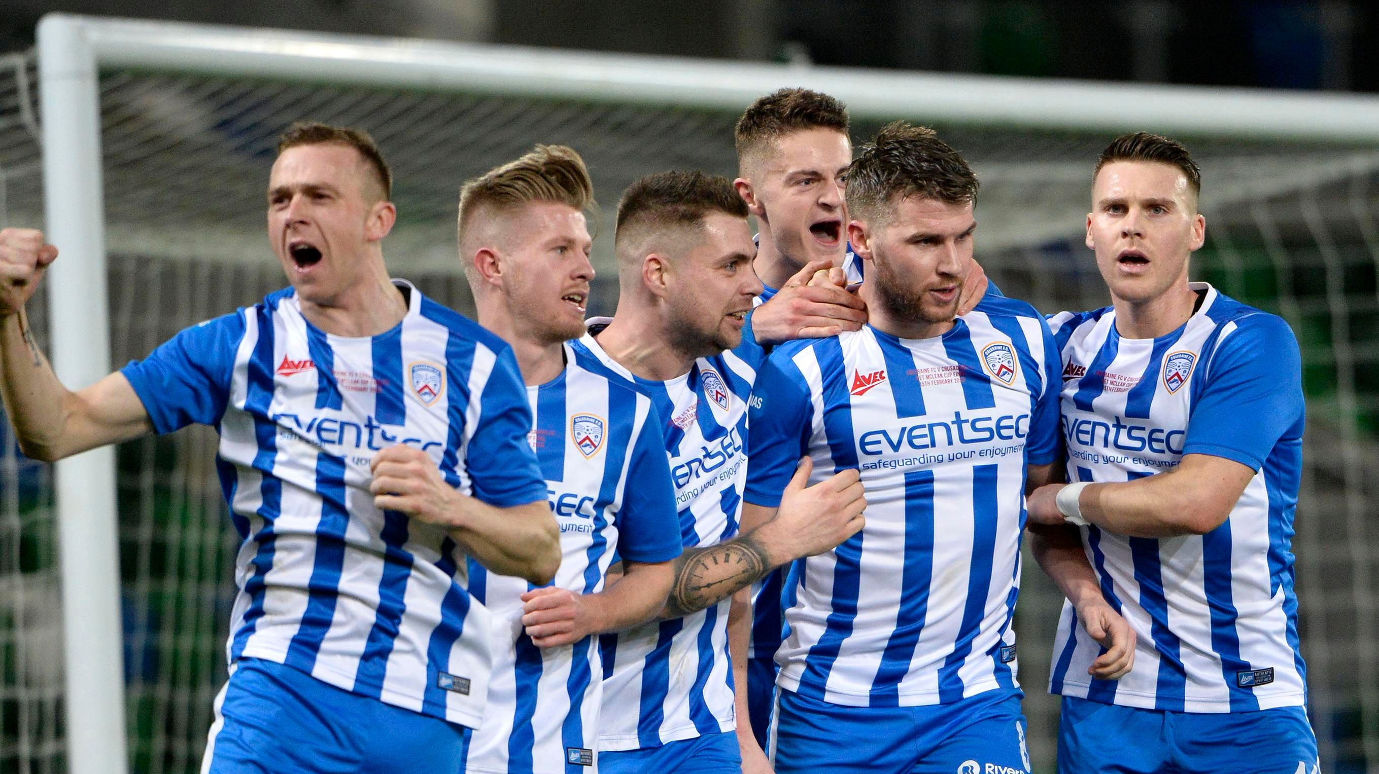 Coleraine beat Crusaders to win League Cup for first time since '88