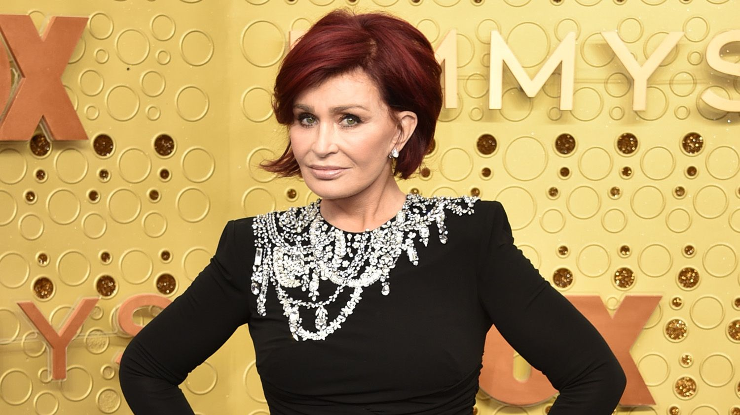 Sharon Osbourne debuts white hair after 'dying it red every week for 18 years'