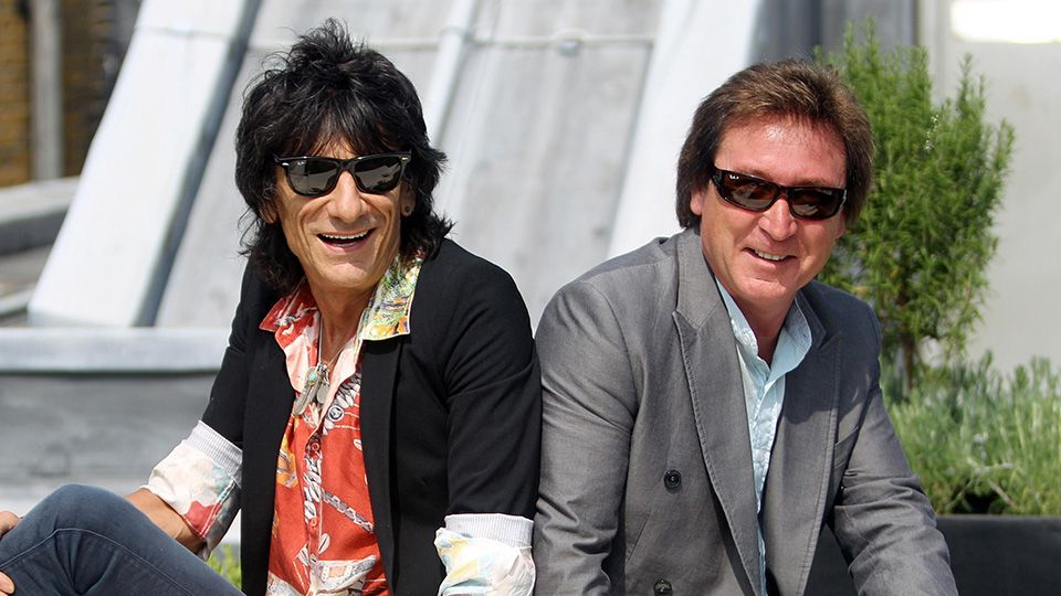 Ronnie Wood and Kenney Jones set to join Rod Stewart at BRITs performance