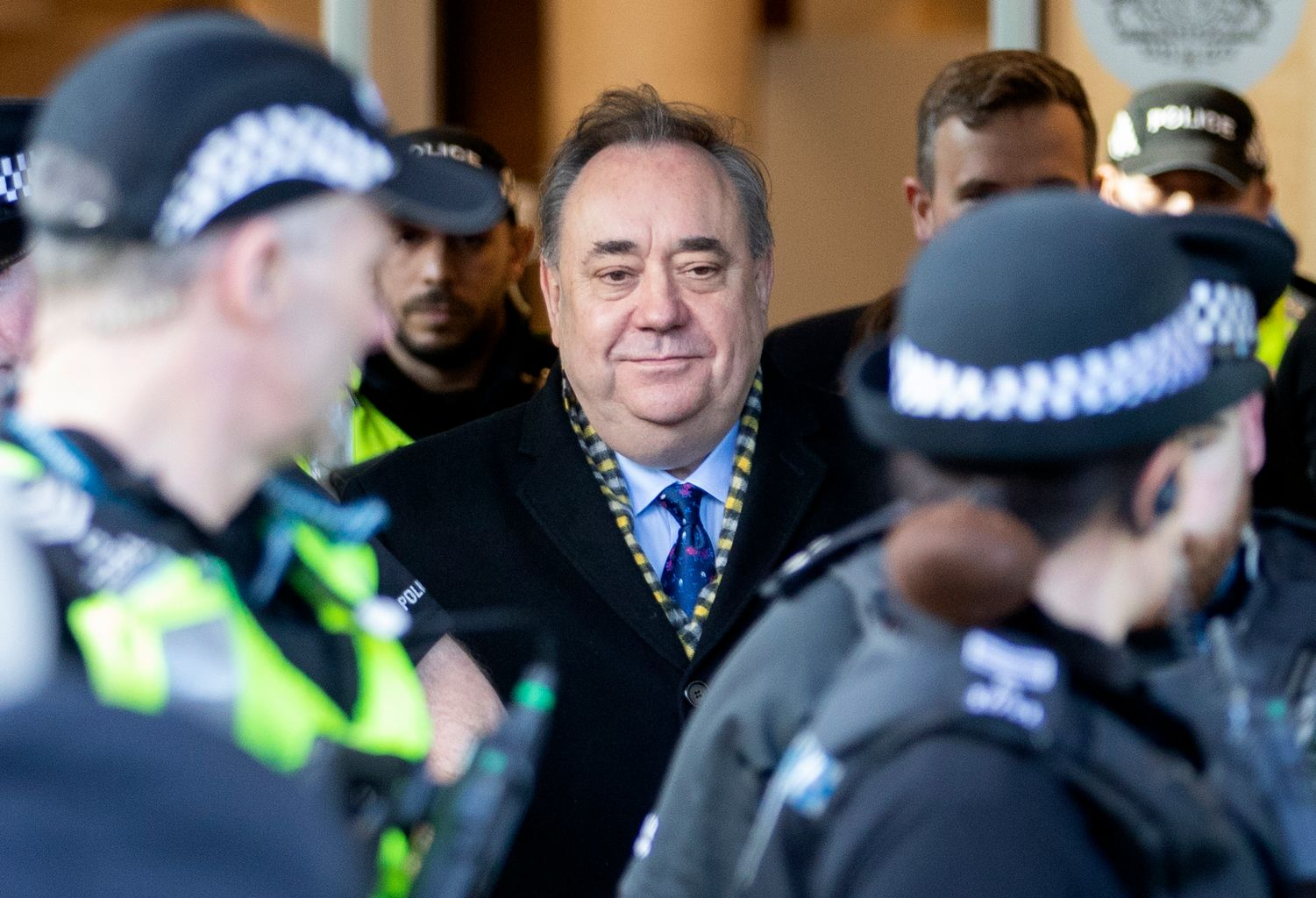 Alex Salmond in court in Glasgow