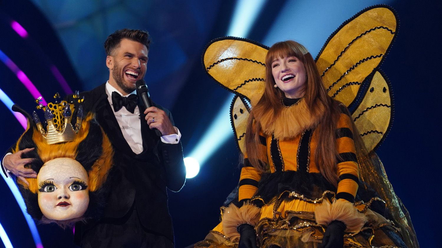 Joel Dommett hints at SECOND series of The Masked Singer