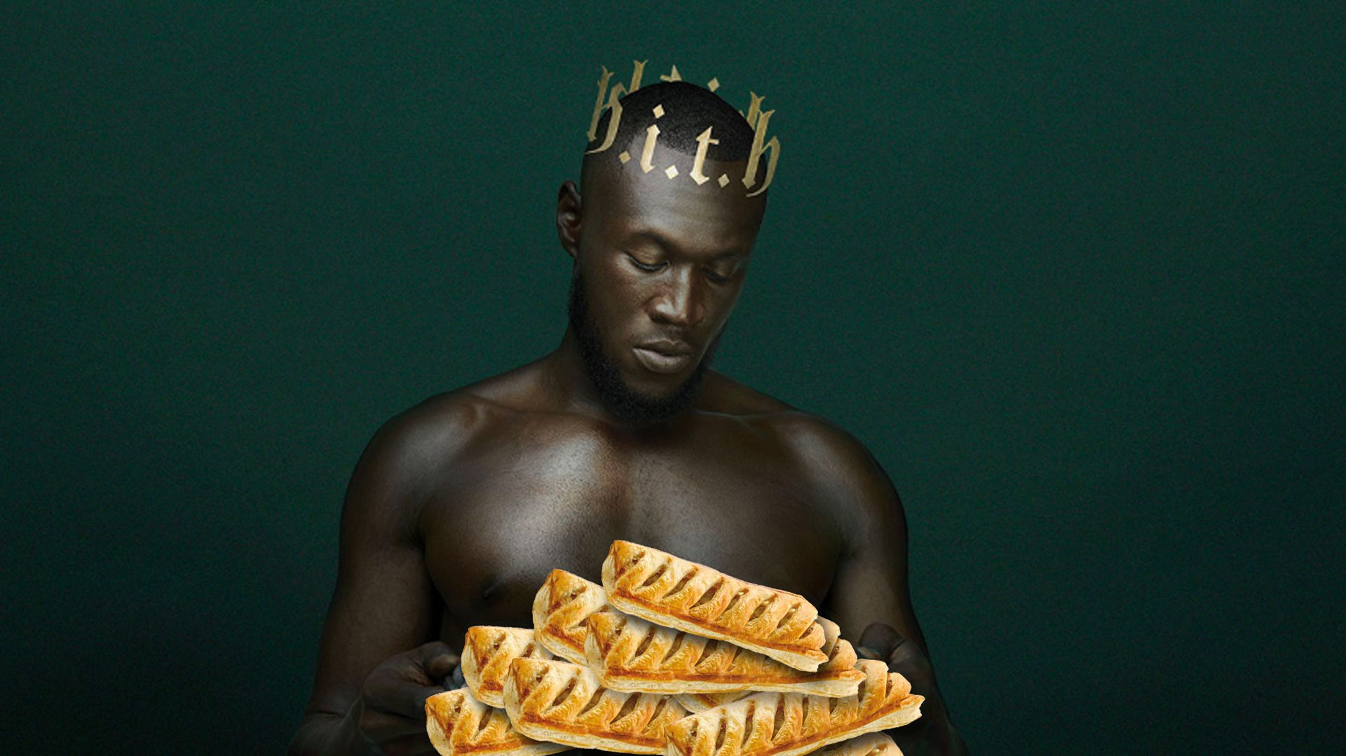 Stormzy's just been gifted with the FIRST EVER Greggs 'black card' 😱