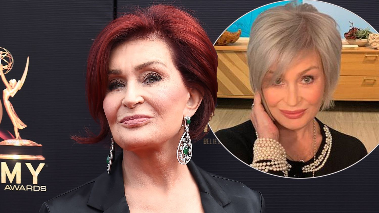Sharon Osbourne reveals empowering reason why she's stopped dying her hair