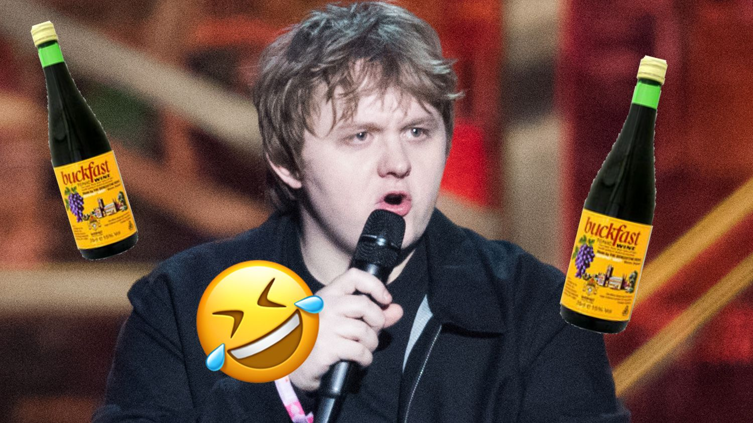 Lewis Capaldi brilliantly responds to fan who criticised him for drinking at The BRITs