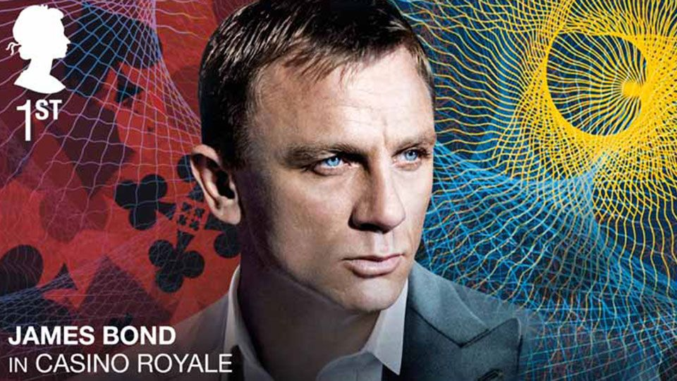 Royal Mail to release James Bond stamps to celebrate the 25th Bond film No Time To Die