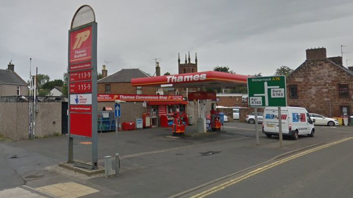 Staff threatened and cigarettes worth over £500 stolen in robbery in Mauchline