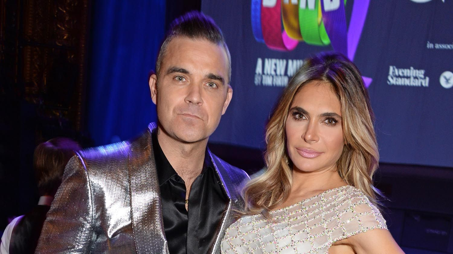 Ayda Field gives first glimpse of newborn son in adorable video with Robbie Williams