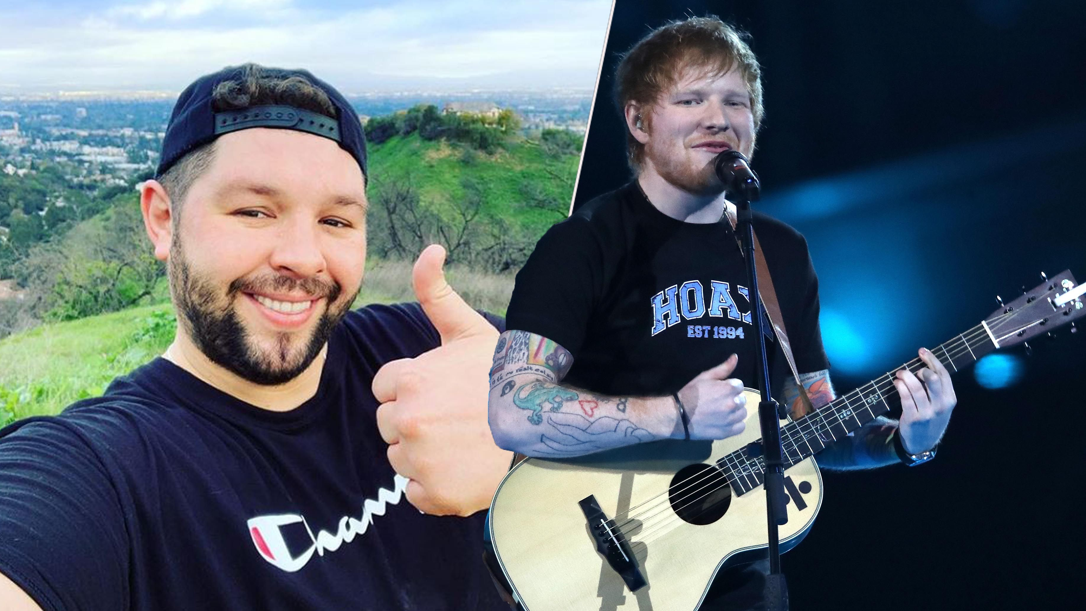 Ed Sheeran's songwriter James Newman is representing the UK at Eurovision