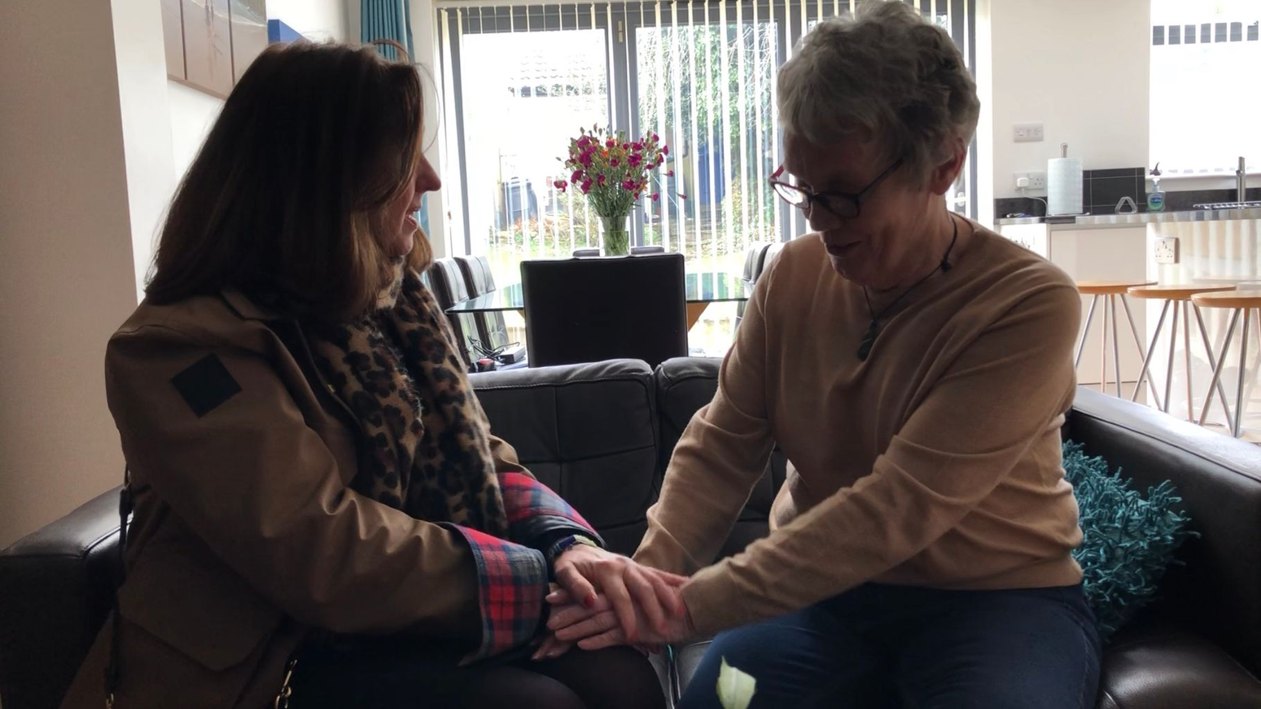 United In Grief : Tyred mum Frances Molloy meets another mum devastated by old tyre