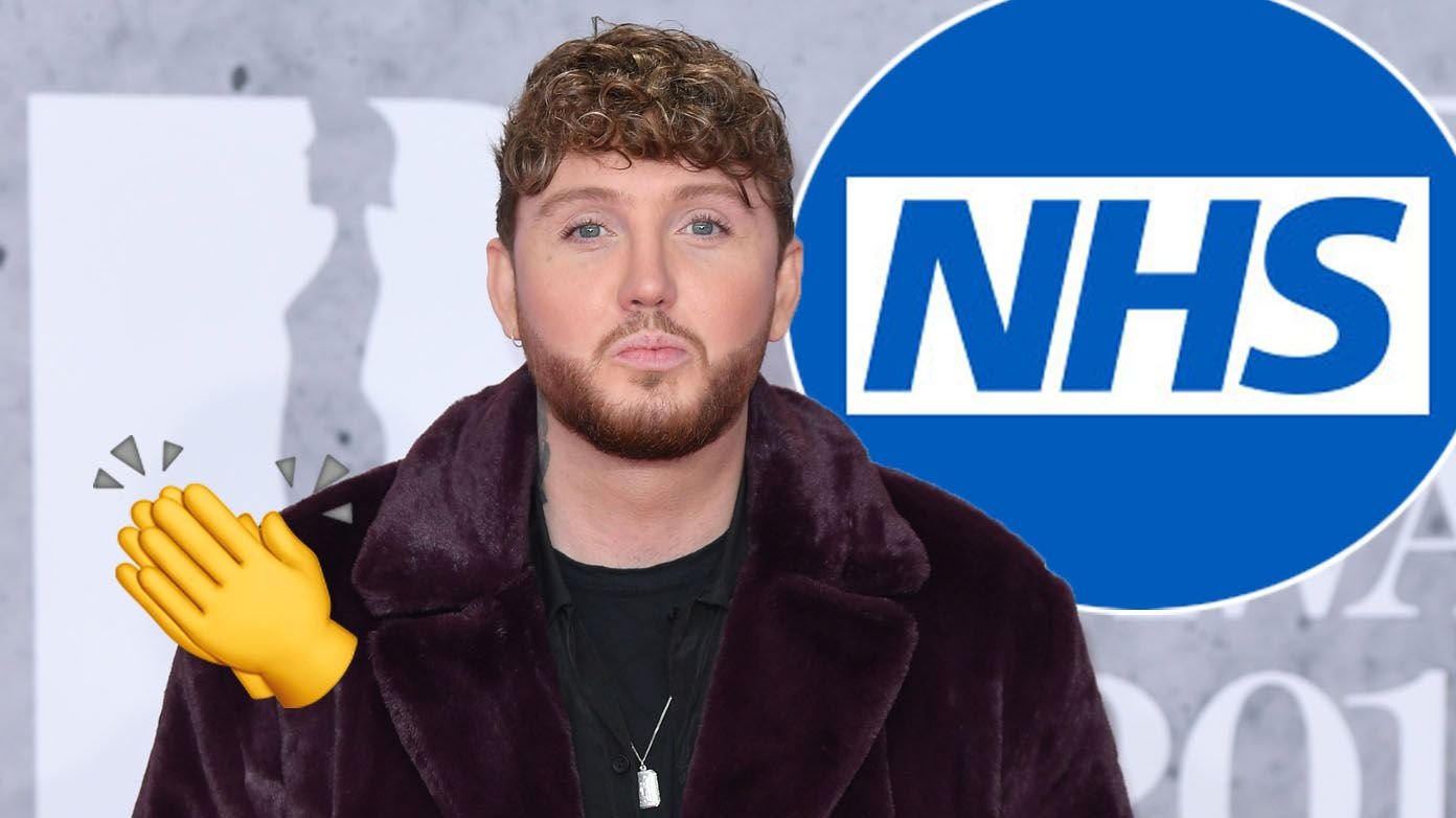 James Arthur donates £5K to NHS after 'accidentally' shaving head