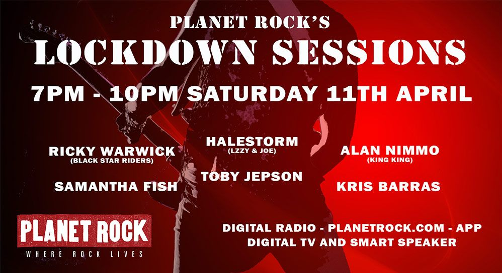 Planet Rock's The Lockdown Sessions
