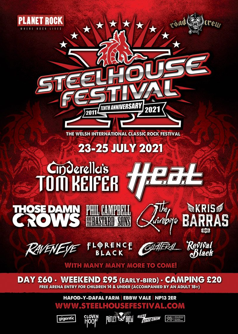 Steelhouse Festival 2021 line-up