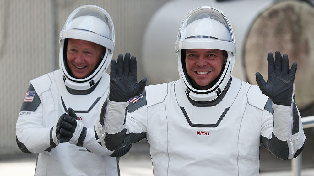 SpaceX astronauts listen to AC/DC and Black Sabbath classics during historic mission