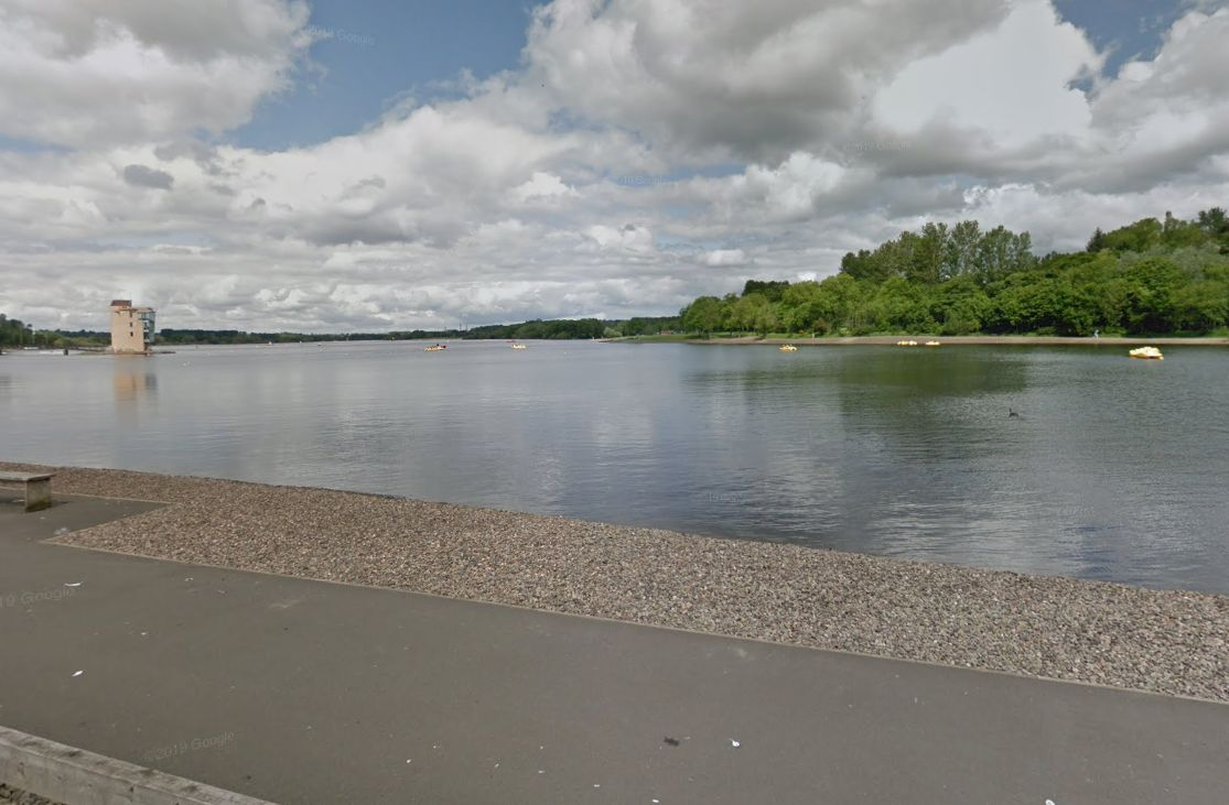 Man fighting for life after Strathclyde Park loch swim