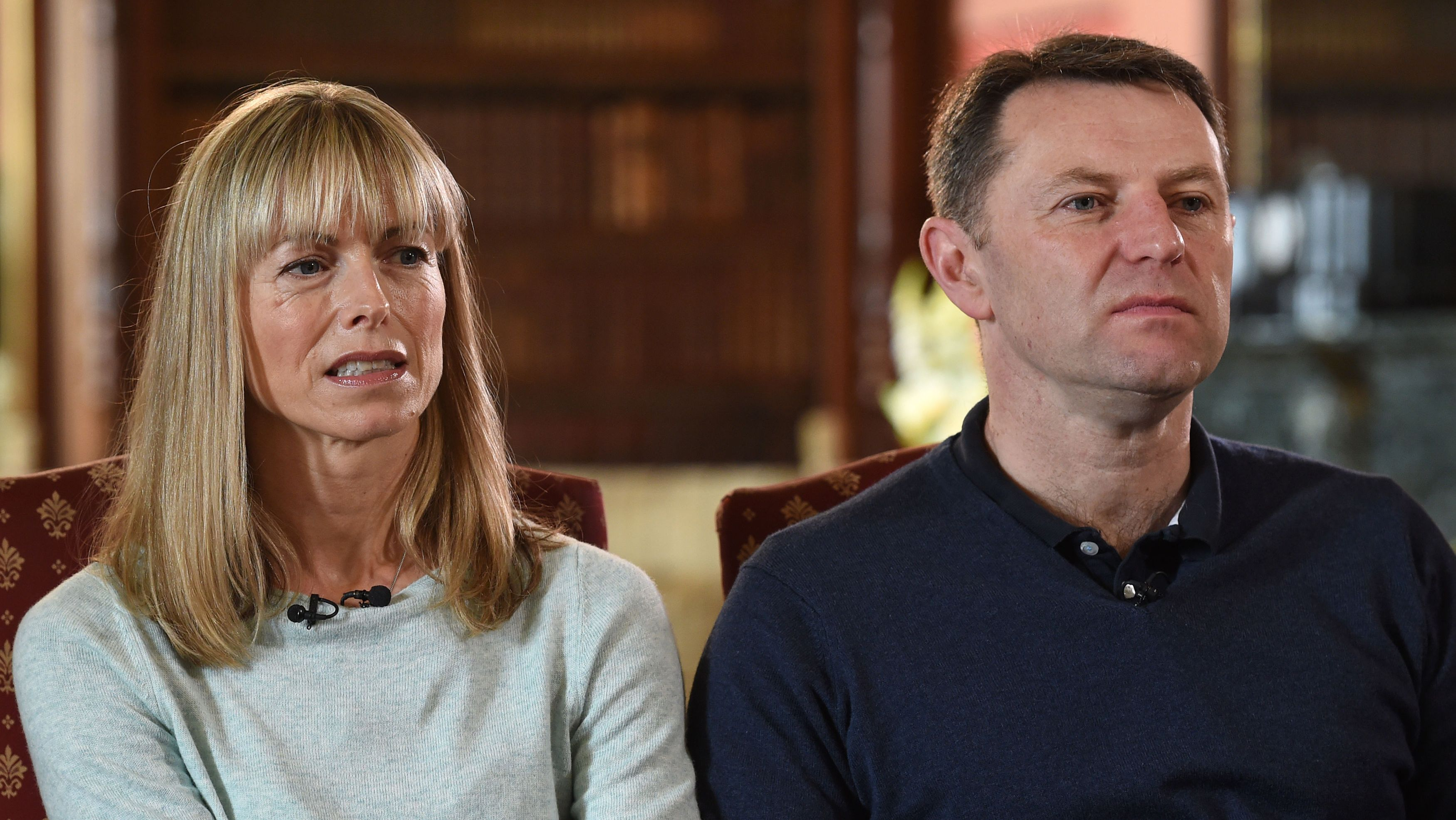 Kate and Gerry McCann say they won't give up finding Madeleine alive