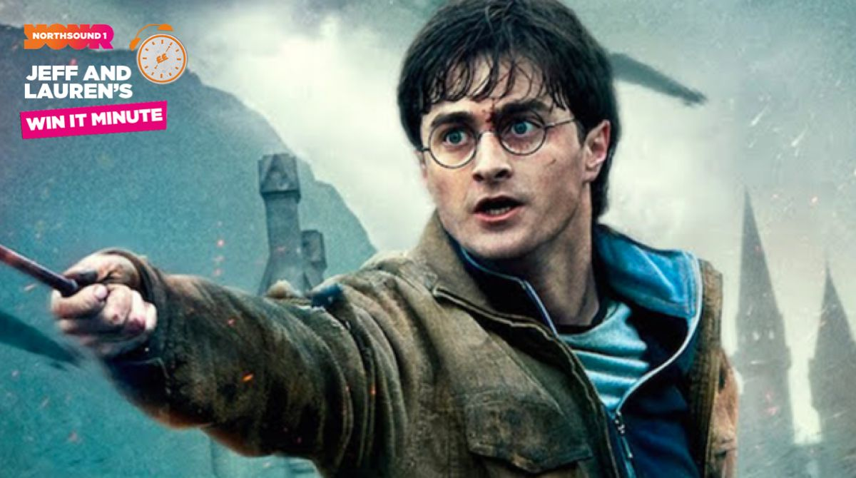 Win it Minute: Who are Harry Potter's two best friends?