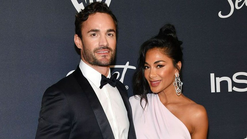 Nicole Scherzinger and Thom Evans delight fans with sizzling beach snaps