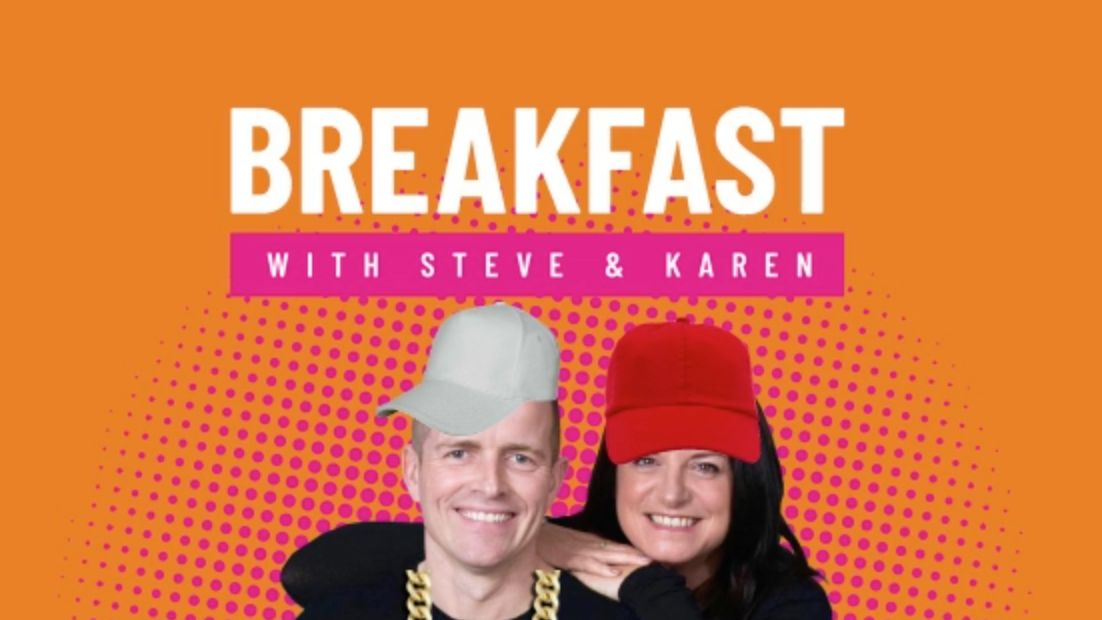 Our throwback Charva playlist, featured on Steve and Karen's Breakfast Show!