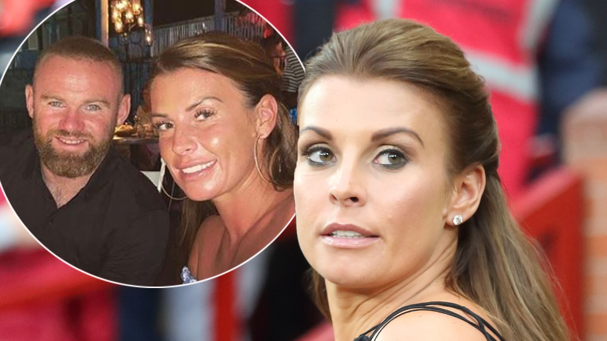 Coleen Rooney hits back at pregnancy rumours after new photos