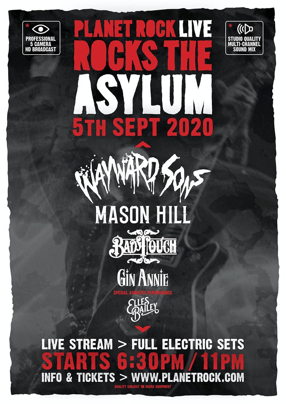 Planet Rock Live Rocks The Asylum poster