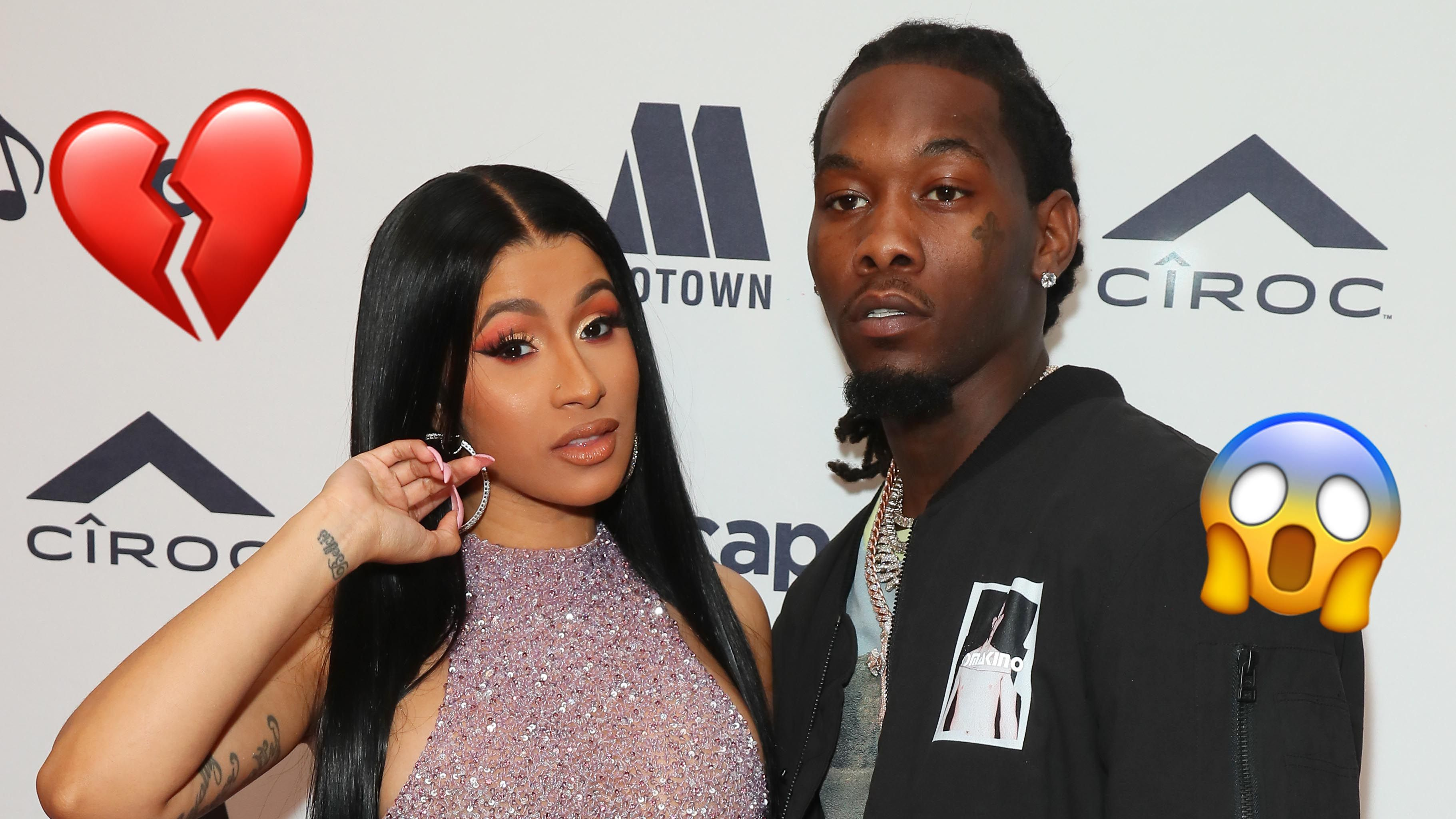 Cardi B has filed for divorce from Offset 💔