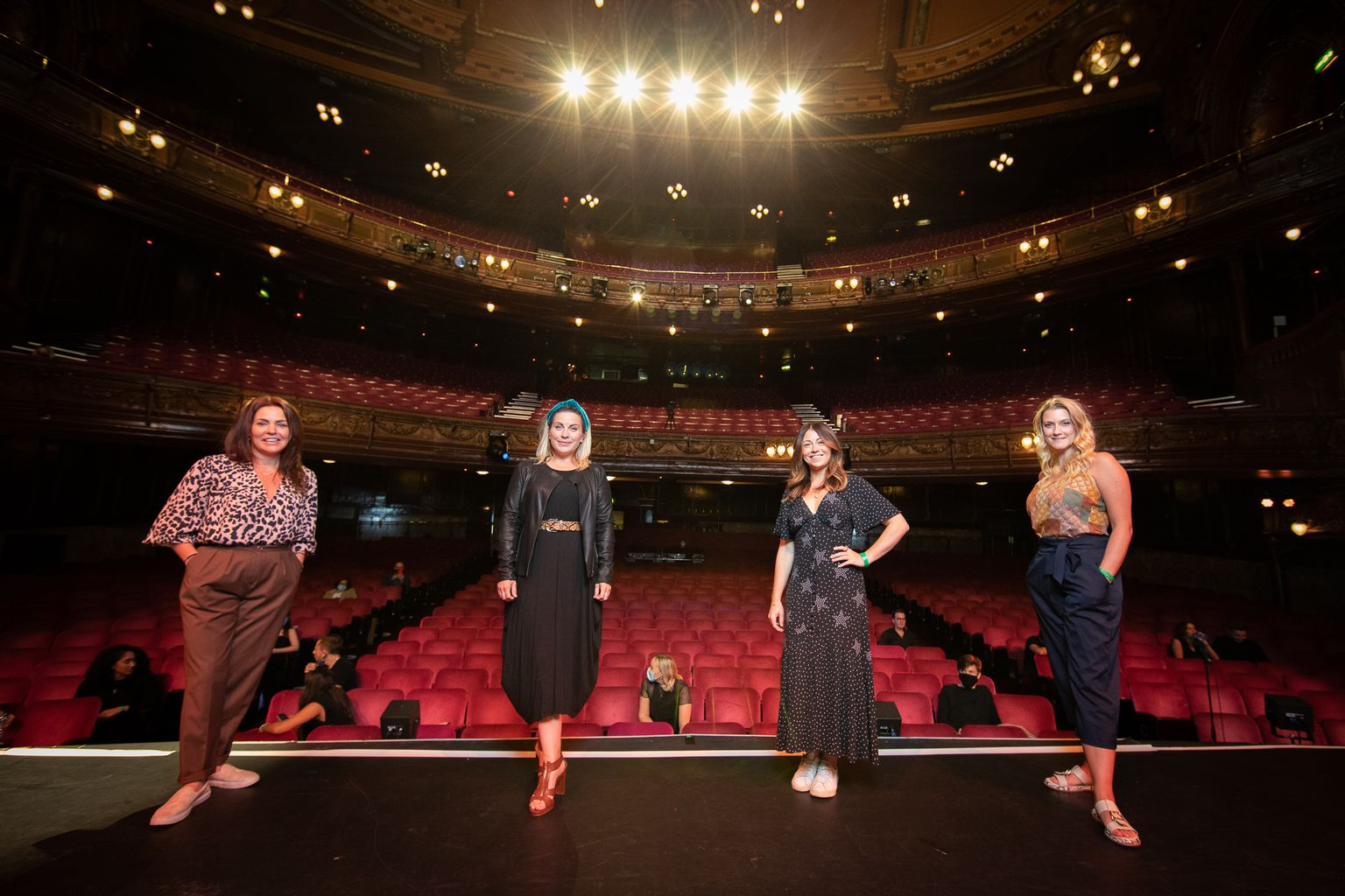 EXCLUSIVE: Four past Elphaba stars team up for a performance of Defying Gravity