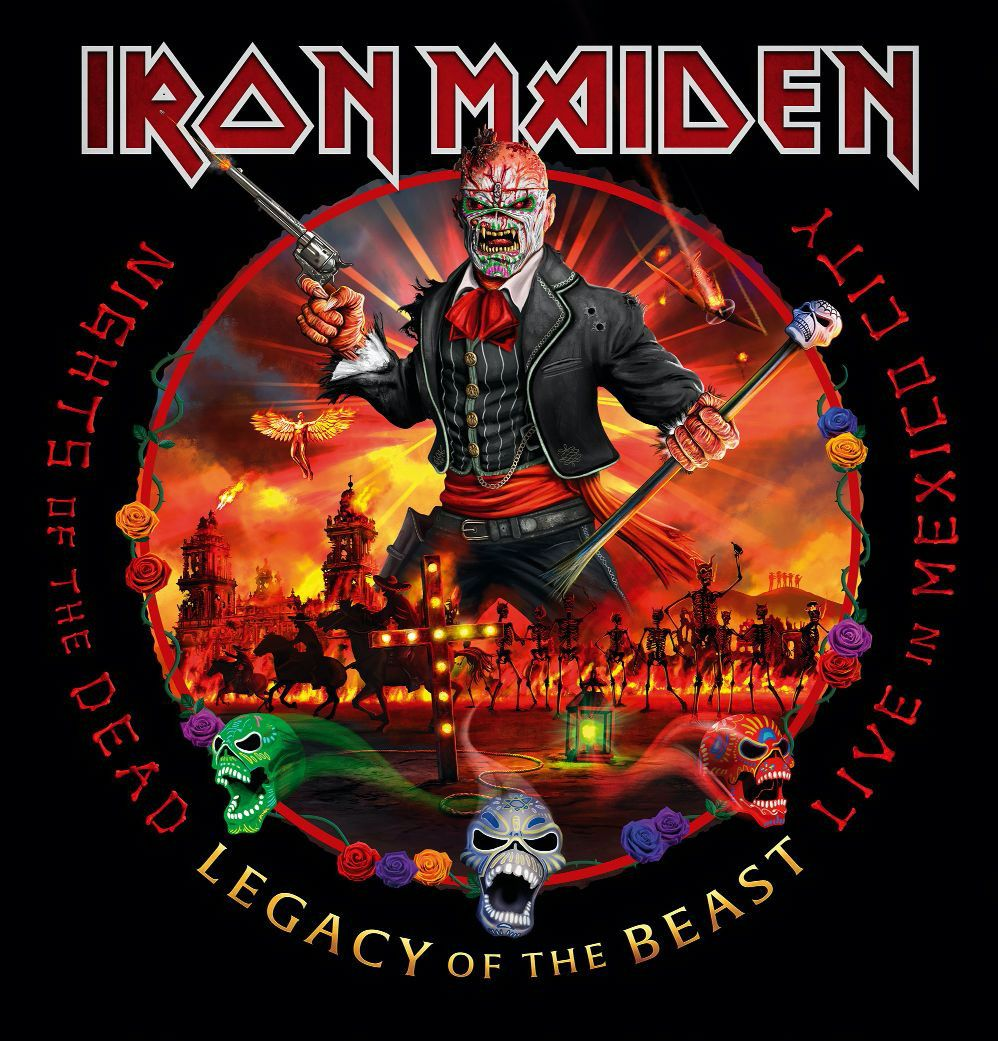 Iron Maiden - Nights Of The Dead, Legacy Of The Beast: Live In Mexico City