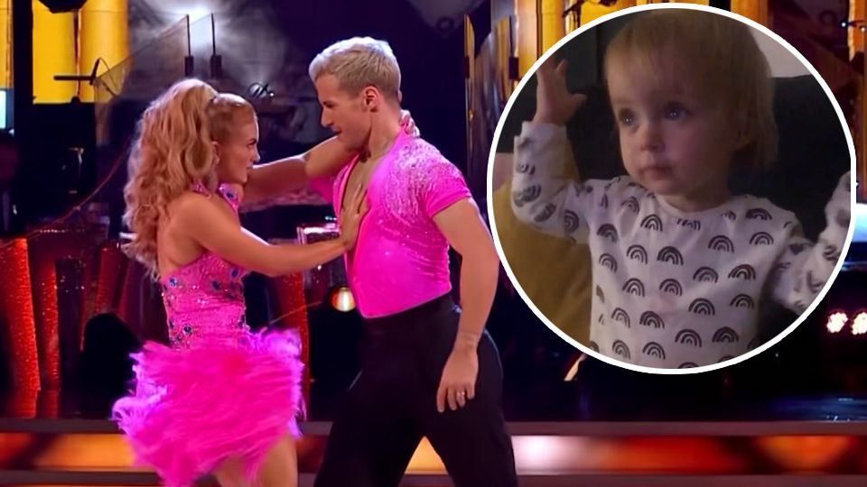 Hits Radio's Gemma Atkinson shares a super cute video of daughter Mia watching dad Gorka on Strictly