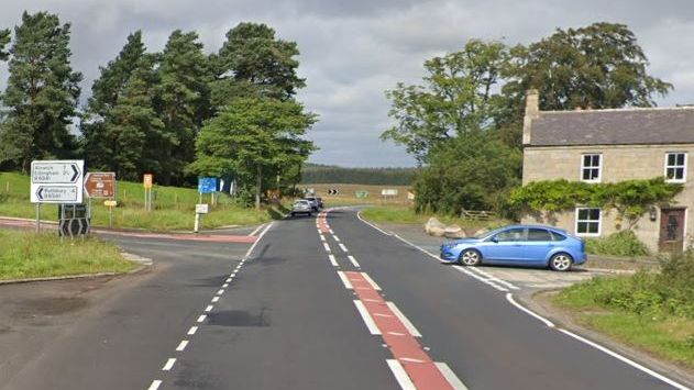 Girl, 17, in 'critical condition' in hospital after car collides with tree in Northumberland
