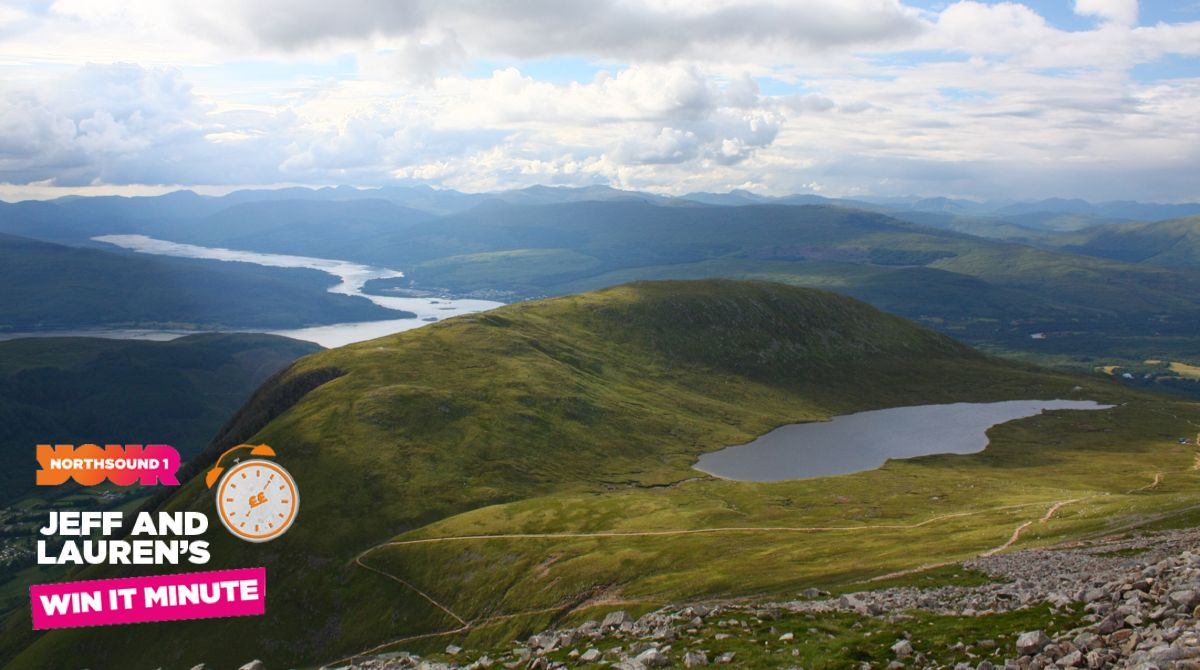 Win it Minute: What is the highest mountain in Scotland?