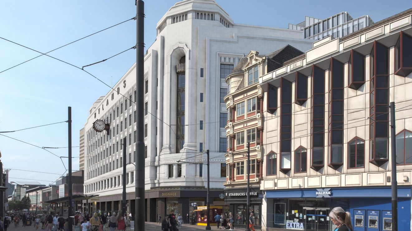 Revamp of Manchester's iconic Debenhams building recommended for approval