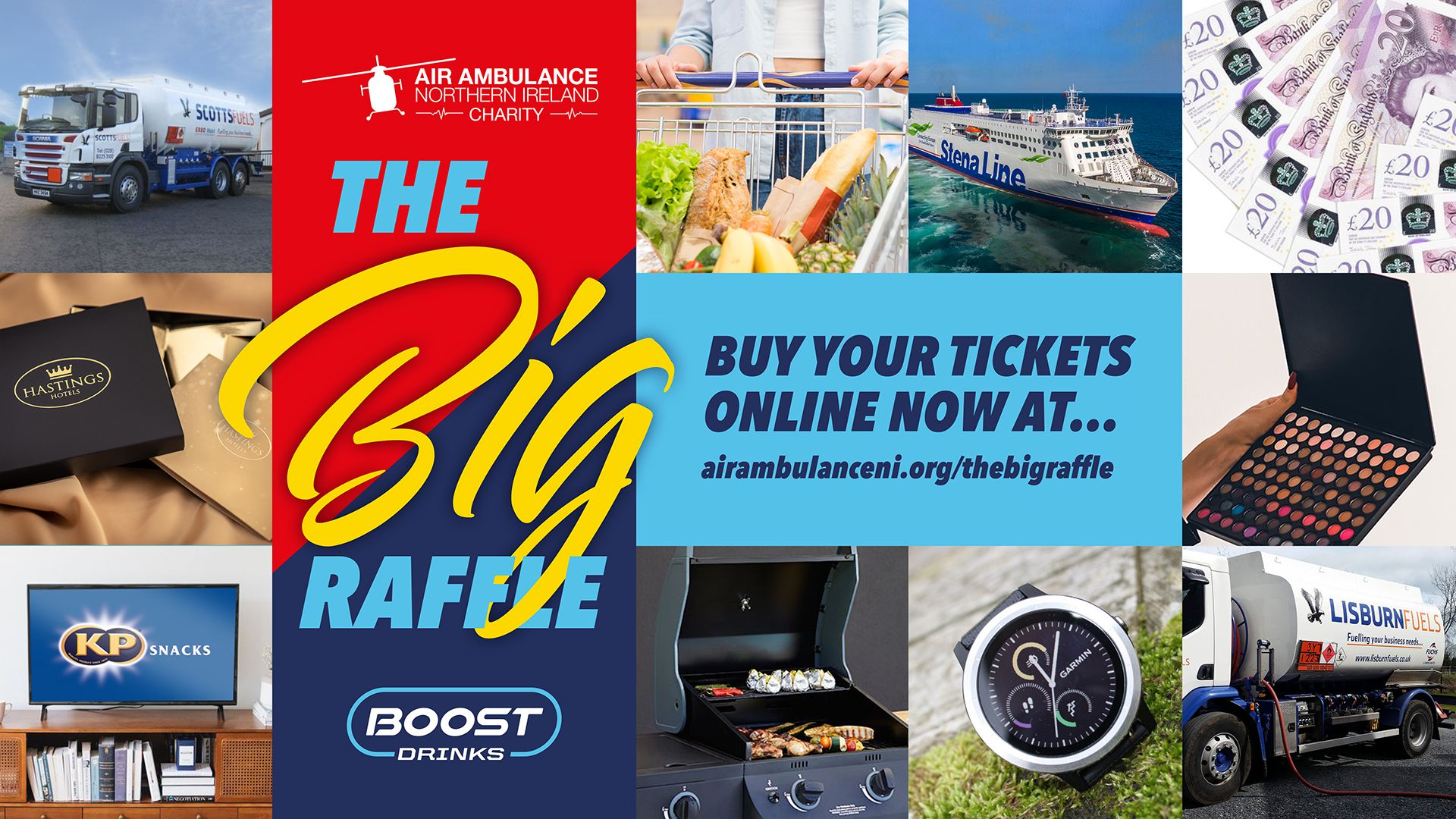 Air Ambulance NI aiming to boost your mood with spectacul-AIR raffle