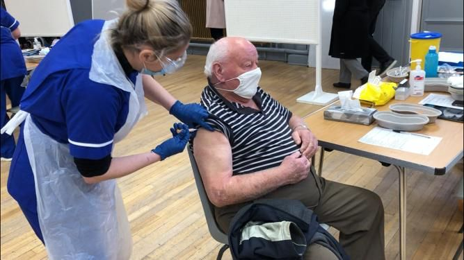 All care home residents eligible in NHS Grampian have received their first Covid vaccine dose