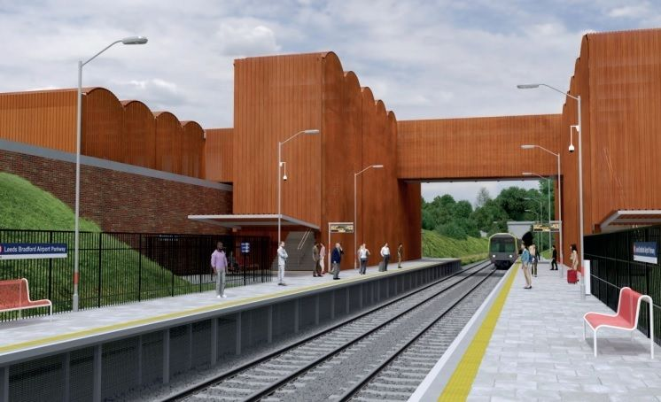 Public consultation launched on proposed Leeds Bradford Airport rail station