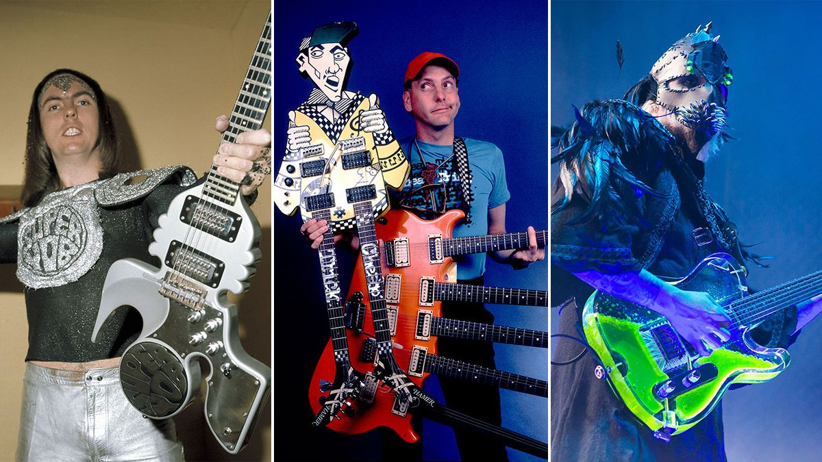 35 of the wildest custom guitars & basses in the history of rock music