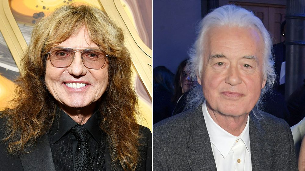 David Coverdale plots new music with Jimmy Page as part of 'Coverdale-Page' reissue