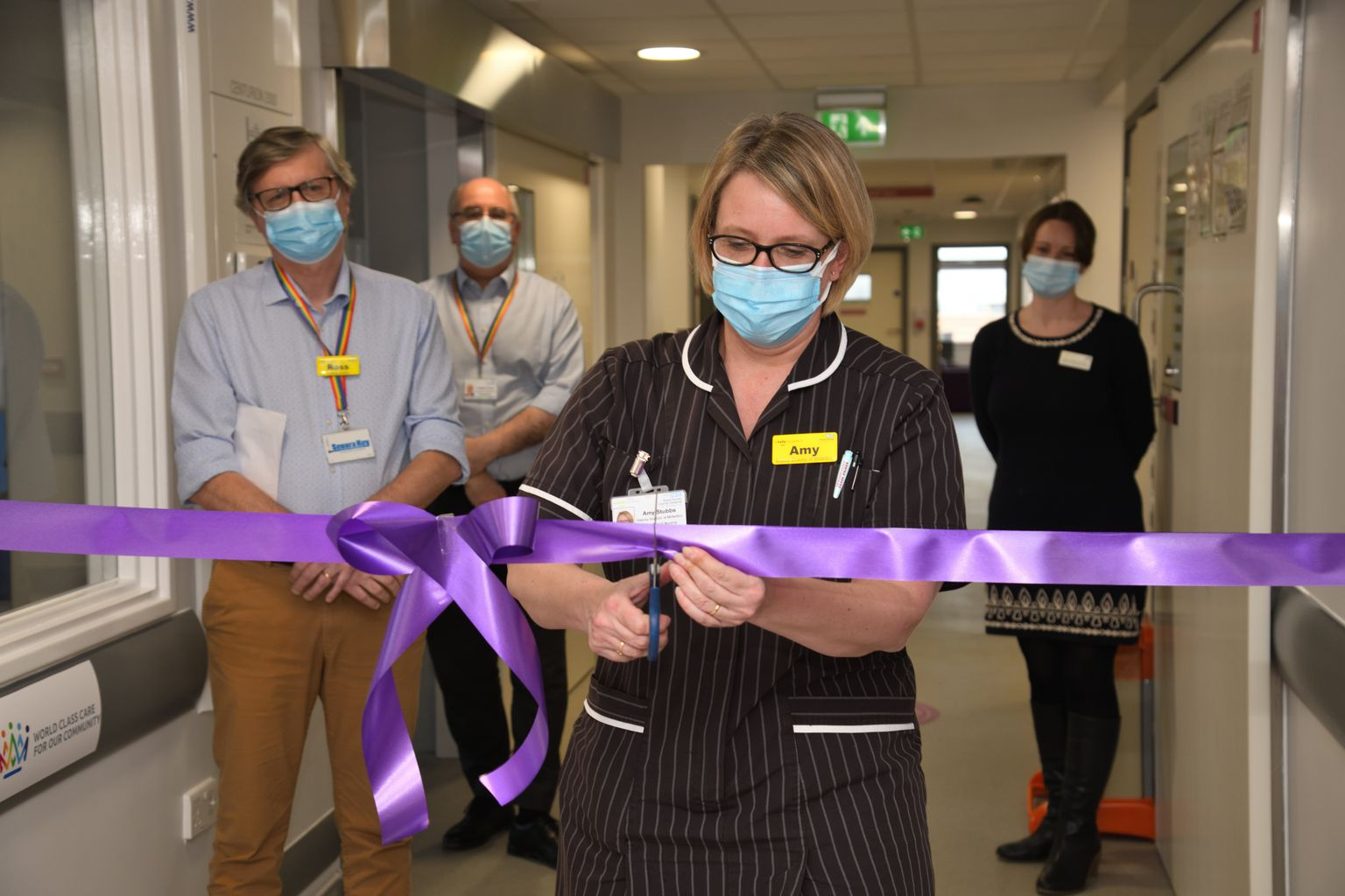 Refurbished special care baby unit at Guildford's Royal Surrey means parents can stay close 24/7