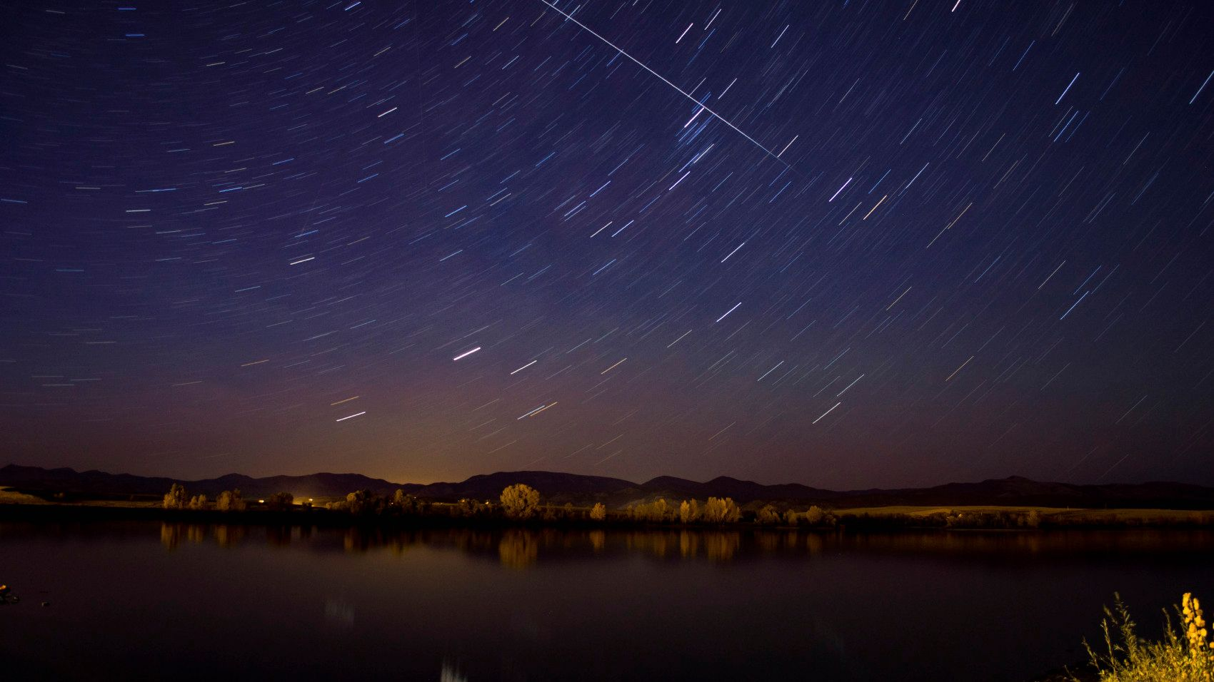 See the space station AND space shuttle tonight